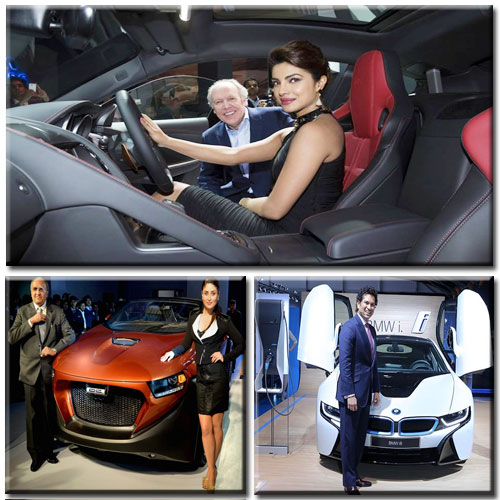 Auto expo en-thrilled by CELEBS.., auto expo,  auto expo 2014,  auto expo delhi,  delhi,  2014,  february 5-11,  auto expo en-thrilled by celebs,  celebs,  entertainment,  automobiles,  cars,  bmw,  kareena kapoor,  priyanka chopra,  sachin tendulkar,  dc,  tata,  tata group,  cyrus mistry,  dilip chhabria,  greater noida