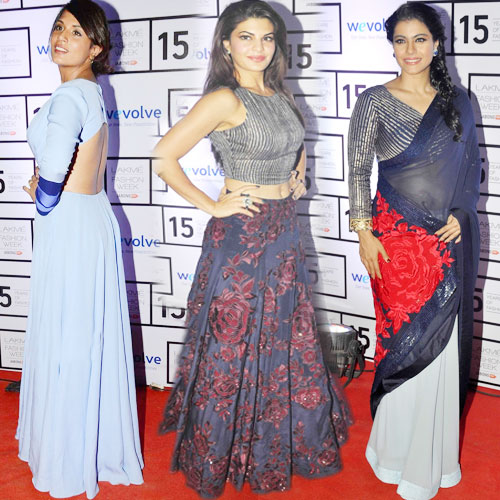 B-Town's Divas at Lakme Fashion Week, b-town divas at lakme fashion week,  bollywood beauties cut a graceful and elegant picture,  fashion trends 2015,  fashion trends,  fashion tips,  fashion,  ifairer