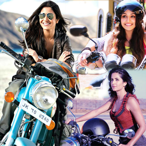 B-Town's Hottest Biker Babes , b-town hottest biker babes,  bollywood babes and their bike passion,  bollywood hot biker babes,  bollywood news,  bollywood gossip,  latest bollywood updates,  ifairer