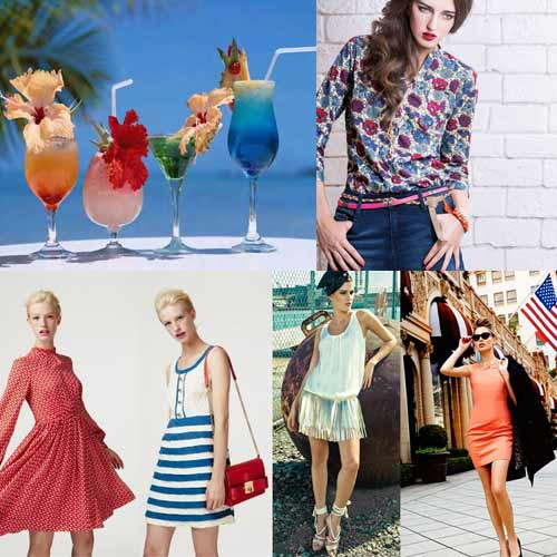 Beat The Heat , what to wear in summers,  fashion statement to be followed in summer and spring,  summer collection,  best suited dresses for summer,  tricks to avoid summer heat,  fashion to be followed in summer,