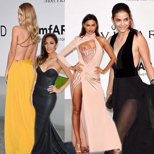 Beauties sizzle in Cannes with sexy Gowns, beauties sizzles at cannes with sexy gowns,  cannes film festival 2014,  fashion of sexy gowns with low cut,  rosie huntington whiteley,  irina shayk,  michelle rodriguez,  barbara palvin,  allesandra ambrosio,  kylie minogue,  nicole scherzinger,  hollywood fashion,  hollywood news,  hollywood gossips,  latest news,  mfar cinema against aids gala