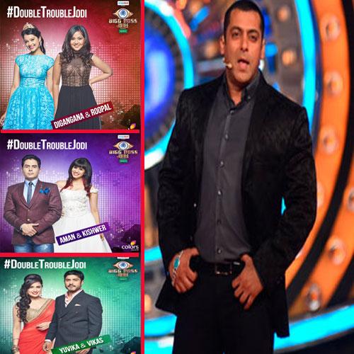 Salman Khan Chained Big Boss 14 contestants, salman khan,  bigg boss double trouble,  big boss 9,  shweta singh,  india tv,  saurav sharma,  india tv,  dibang  ndtv,  digangana and roopal ,  kishwer merchant,  aman verma,  rimi sen,  suyyash rai,  yuvika choudhary,  vikas bhalla,  prince narula,  rochelle rao,  mandana karimi,  keith sequeira,  ankit gera,  arvind vegda,  bollywood gossip, entertainment,  entertainment tonight,  famous actor,  famous personality,  viral actor, entertainment gossip,  entertainment agencies, bollywood hunk