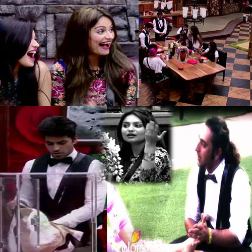 Bigg Boss Contestants Turn Butlers To Robbers