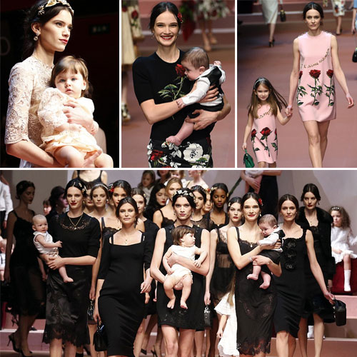 Bizarre walk of models with Babies at MFW, bizarre walk of models with babies at mfw,  fashion,  fashion tips,  fashion accessories,  fashion trends,  fashion trends 2015,  latest news,  ifairer