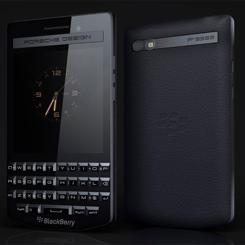 BlackBerry's Porsche smartphone @ 99,990, blackberry launches porsche smartphone @ 99, 990,  blackberry launches porsche smartphone,  blackberry porsche design p9983,  gadgets,  technology,  ifairer