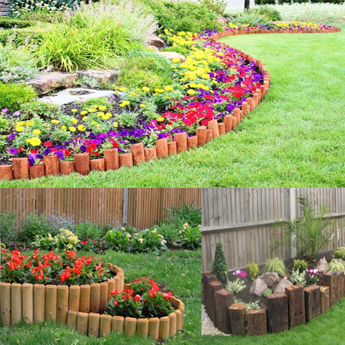 Bloom your garden with unique ideas slide 2 for Unique garden border ideas