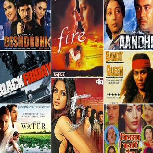 Bollywood's Controversial Films!, bollywood,  bollywood movies,  controversial bollywood movies,  bollywood banned movies,  kissa kursi ka,  aandhi,  bandit queen,  fire,  paanch,  black friday,  water,  deshdrohi,  ifairer