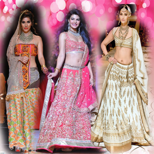 CATCH best of best lahangas at IBFW.., indian bridal fashion week, fashion is a religion, enjoy the temptations, eye candy, best lahanga, best picks of indian bridal fashion week, catch best of best lahangas at ibfw, kangana ranaut, sonam kapoor, nargis fakhri, jacqueline fernandez, sophie choudhary, jj valaya, rohit bal, ashima-leena, jyotsna tiwari, rina dhaka