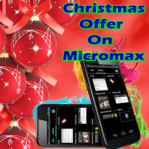 Christmas Offer for Micromax Smartphones, christmas offer for micromax smartphones,  technology,  automobiles,  gadgets,  latest news,  micromax