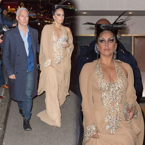 Daring Make-up of Lady Gaga, daring make-up of lady gaga,  lady gaga,  fashion,  fashion tips,  fashion trends,  fashion accessories,  fashion trends 2014,  latest news,  ifairer