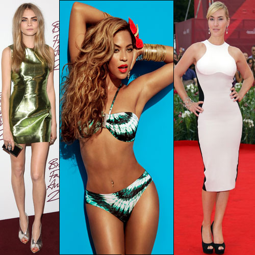 Decide which Celebs body shapes you have?