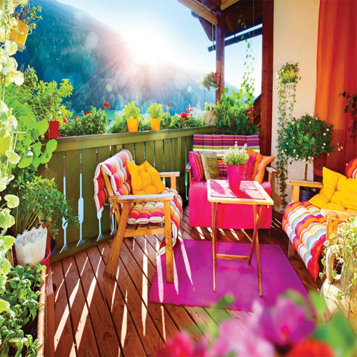 Designing your own terrace garden in 8 steps