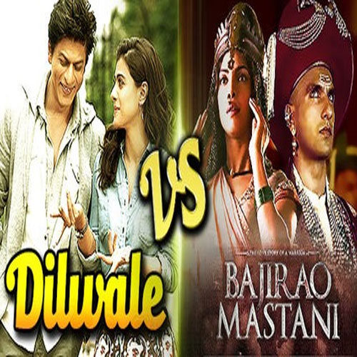 Dilwale v/s bajirao Mastani on Box office, dilwale,  bajirao mastani,  bollywood film dilwale and bajirao mastani,  dilwale and bajirao box office collection,  kajol,  shah shah rukh khan,  varun dhawan,  kriti sanon,  shah rukh khan dilwale,  ranveer singh bajirao mastani,  latest movies trailers,  hindi movies trailers,  latest bollywood movie videos,  bollywood video,  bollywood movie trailers