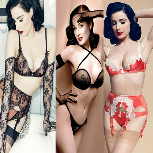 Dita Von Teese's Launches sexy lingerie line! , dita von tees lingerie line for women,  fashion accessories,  summer 2013 collection