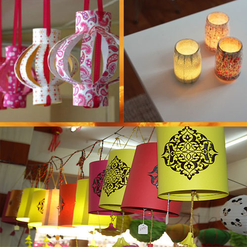 Diwali decorations online gift shopping ideas for How to make diwali decorations at home