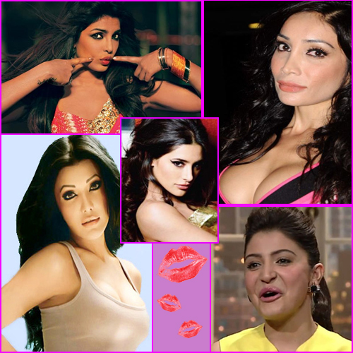 Donald Duck LIPS of BOLLYWOOD Starlets!!, donald duck lips of bollywood,  bollywood news,  bollywood gossips,  bollywood celebs,  bollywood actresses,  bollywood masala,  priyanka chopra,  anushka sharma,  sophia hayat,  nargis fakhri,  koena mitra,  bollywood actresses,  entertainment