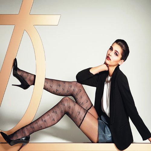 Drive him crazy with scented Stockings!