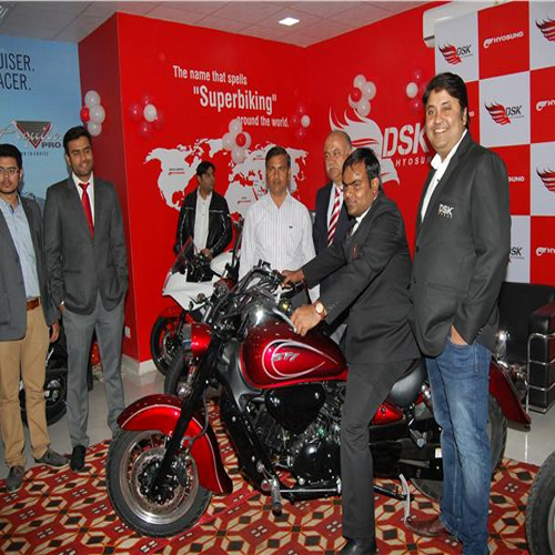 DSK Hyosung Inagurates Superbike Showroom In Jaipur, dsk,  dsk showroom in jaipur,  dsk superbike,  jaipur,  dsk hyosung,  latest automobile news,  ifairer