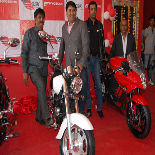 DSK Hyosung Inagurates Superbike Showroom In Jaipur , dsk,  dsk showroom in jaipur,  dsk superbike,  jaipur,  dsk hyosung,  latest automobile news,  ifairer