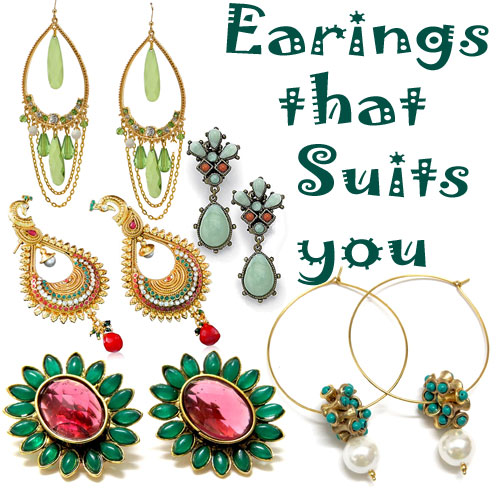 Earrings that suits your personality