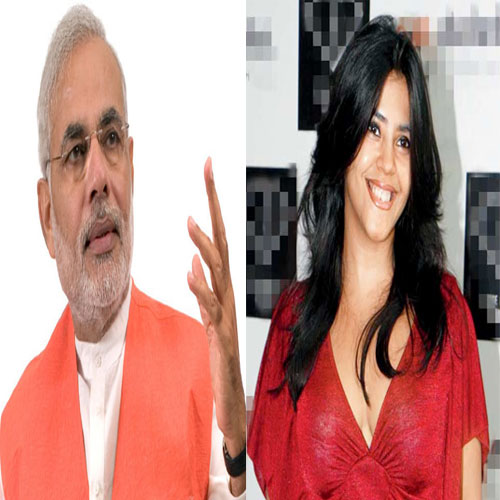 Ekta Kapoor inspired by Narendra Modi: Meri Aashiqui Tum Se Hi launch, ekta kapoor inspired by narendra modi: meri aashiqui tum se hi launch,  ekta kapoor,  tv gossip,  tv buzz,  meri aashiqui tum se hi,   ekta kapoor upcoming serial,  tv serial,  tv serial news,  colors tv,  colors tv serial news,  colors tv upcoming news,  upcoming serial,  narendra modi
