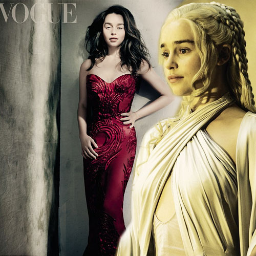 Emilis sizzles for Vogue cover shoot, emilia clarke,  vogue magazine,  hollywood news,  hollywood gossips,  latest news