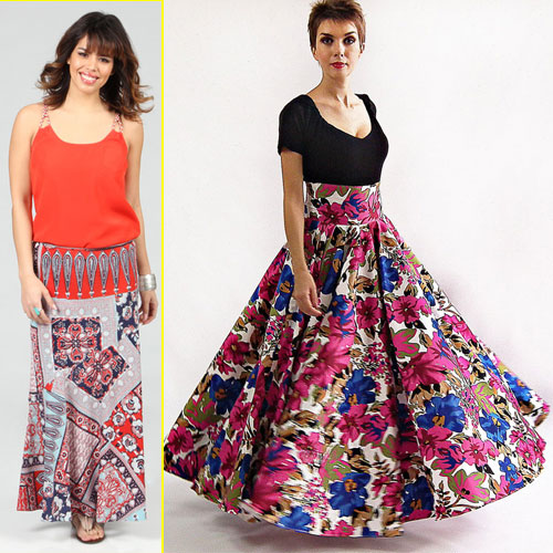 Enjoy Summer in Maxi Skirts, 2015,  fashion trends,  celebrity looks,  new fashionable outfits,  summer outfits,  gorgeous look,  comfortable look,  maxi skirts,  trending outfits