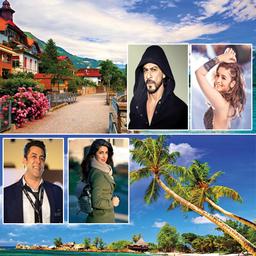Favourite Holiday Destinations of 18 Bollywood A-listers