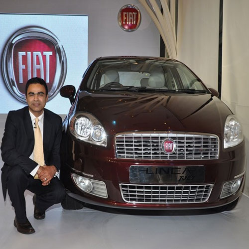 Fiat rolled out facelift Linea!