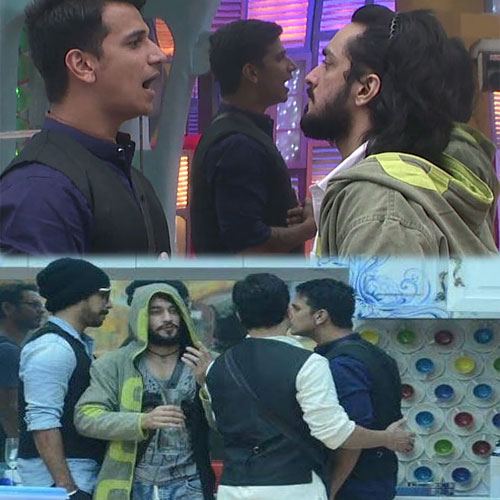 Fight between Rishabh and Prince, fight between rishabh and prince,  bigg boss 9 upcoming episode news,  tv gossips,  tv serial news,  tv shows latest updates,  ifairer