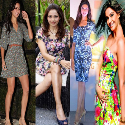 Flower power of Bollywood divas!!, who has wore floral dresses,  bollywood,  fashion,  fashion trends,  bollywood fashion trends,   floral dresses,  flower power of bollywood divas,  bollywood sizzling beauties,  sonam kapoor,  kaitrina kaif,  deepika padukone,  kangana ranaut,  bipasha basu,  kareena kapoor