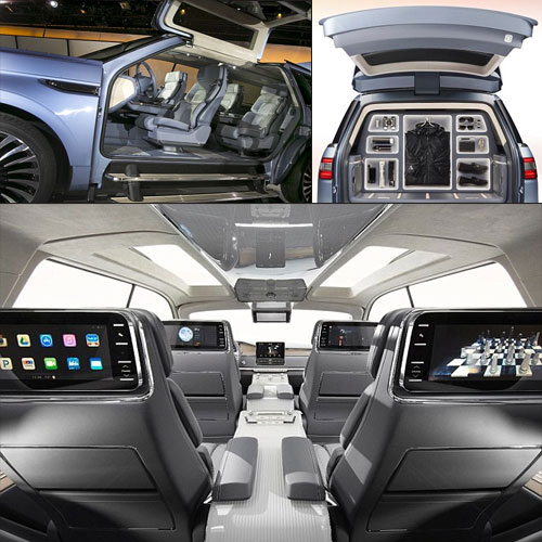 Ford unveils 5 special features of SUV Gigantic Lincoln, suv gigantic lincoln comes with special features,  ford unveils 5 special features of suv gigantic lincoln,  suv gigantic lincoln living room on wheels comes complete with a wardrobe and its own intercom system so passengers can chat easily,  technology,  automobiles,  ifairer