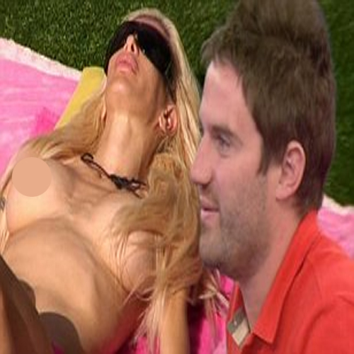 Frenchy Goes Topless In Big Brother!!, big brother,  frenchy,  sexy frenchy,  hot frenchy,  nude frenchy,  topless frenchy,  george gilbey,   sunbaking,  angelique morgan,  topless angelique morgan,  ifairer