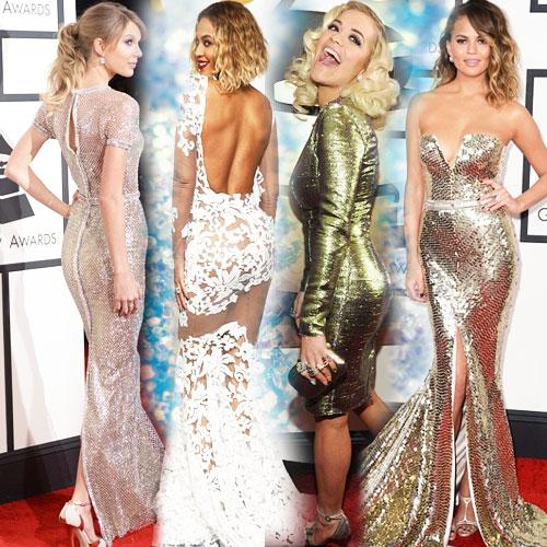Glittering Gals at Grammy's red carpet!, taylor swift,  rita ora,  beyonce,  katy perry,  chrissy teigen,  grammys red carpet 2014,  actresses at grammy red carpet,   grammy red carpet gowns,  hollywood celebs at  grammy awards 2014,   grammy awards 2014