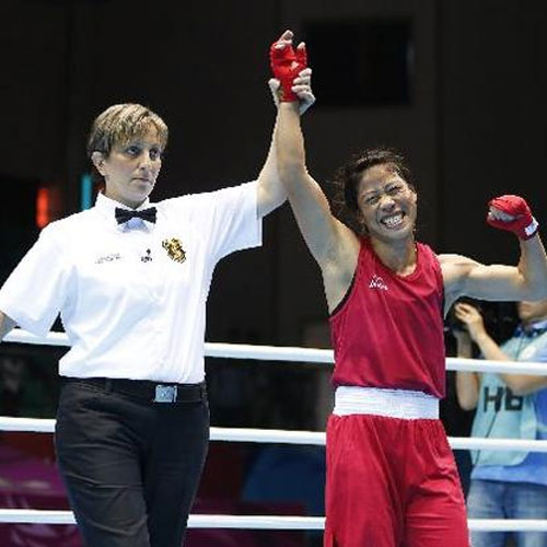 Gold medalist Mary Kom, gold medalist mary kom,  general articles,  articles,  mary kom,  17th asian games,  latest news,  ifairer,  gold medal