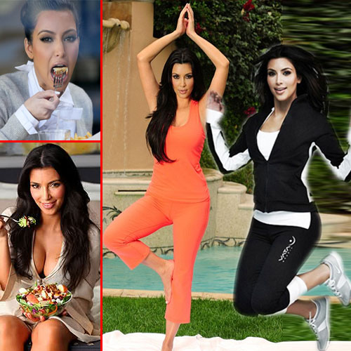 Health Secrets of Kim Kardashian, health secrets,  kim kardashian,  health & beauty,  fitness & exercise,  nutrition guide,  lose weight,  skin care,  hair care,  make up tips,  health tips,  lifestyle