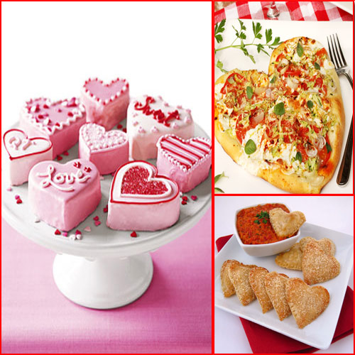 Hearty-Heart Recipes for your LOVE!! , recipe for your love,  love recipe,  recipe of heart pizza,  marshmallow,  marshmallow recipe,  heart filled cheese,  recipe for valentines