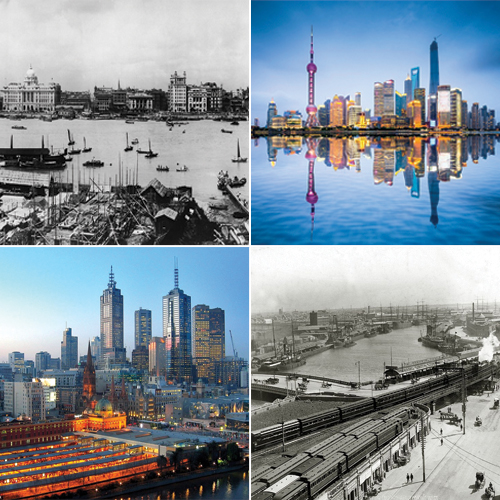 Here`s how skylines of major cities changed over the century, here`s how skylines of major cities changed over the century,  sydney,  singapore,  shanghai,  seoul,  melbourne,  hong kong,  eiffel tower,  east london,  bangkok,  major skylines of the world,  destination,  travel,  ifairer