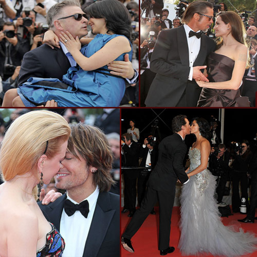 Kisses on Cannes red carpet, hollywood celebs kisses at cannes red carpet,  hollywood news,  hollywood gossip,  latest hollywood updates,  ifairer