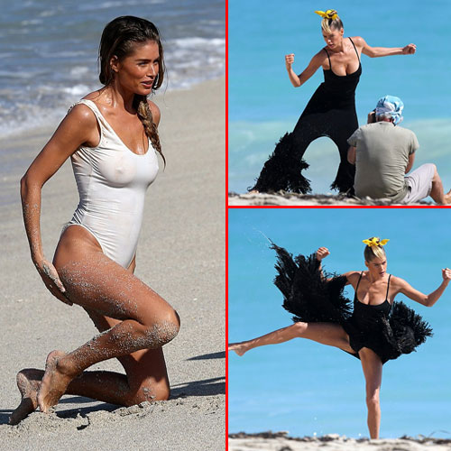 Horrible beach photo shoot of Doutzen, horrible beach photo shoot of doutzen,  doutzen kroes,  fashion