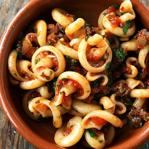 Hot Italian Pasta Dish...