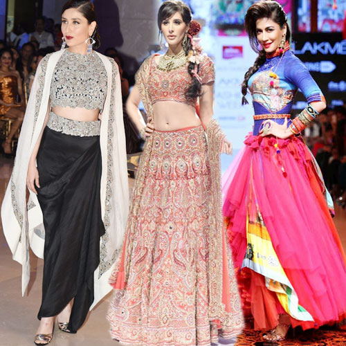 Hottest Divas at the LFW 2015