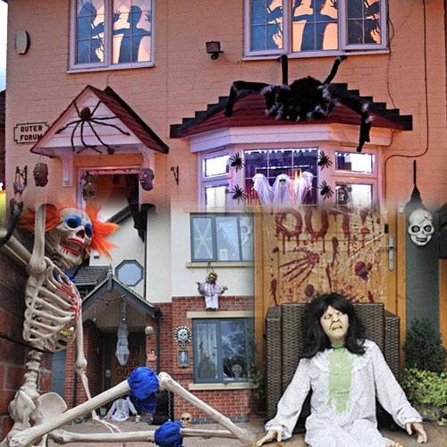 House with full Horror theme, house with full horror theme,  general articles,  articles,  latest news,  latest article,  ifairer