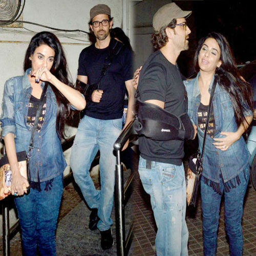 Hrithik with the mystery girl , hrithik with the mystery girl,  the mystery girl with hrithik roshan,  hrithik roshan,  bollywood news,  bollywood gossip,  latest bollywood updates,  ifairer