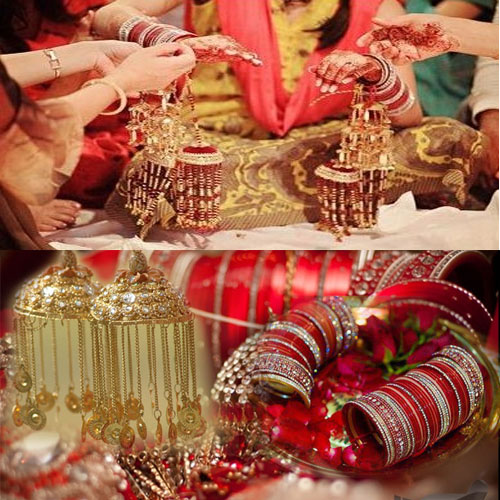 Importance of chudas and kalire for punjabi bride