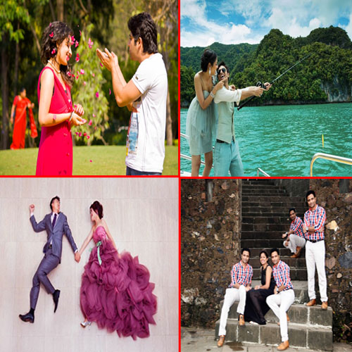 Importance of pre wedding photoshot, relationships, family, friends, 