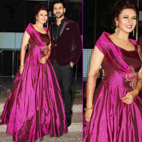 In pics:Divyanka-Vivek throws a grand reception party in Mumbai