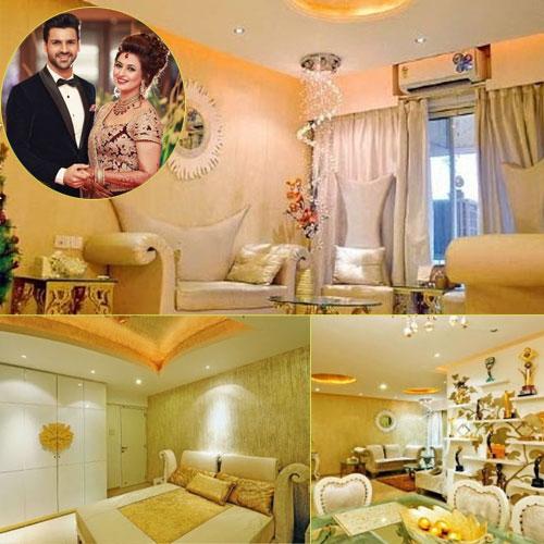 In Pics: Look at Divyanka-Vivek's new casa, in pics: look at divyanka-vivek new house,  divyanka-vivek new home,  divyanka tripathi,  vivek dahiya,  newlyweds,  new house,  marriage divek,  divekwedding,  yeh hai mohabbatein,  tv gossips,  tv celebs news,  ifairer
