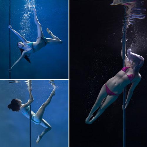 Incredible Underwater Pole Dancing, incredible underwater pole dancing,  general articles,  articles,  latest news,  ifairer,  brett stanley