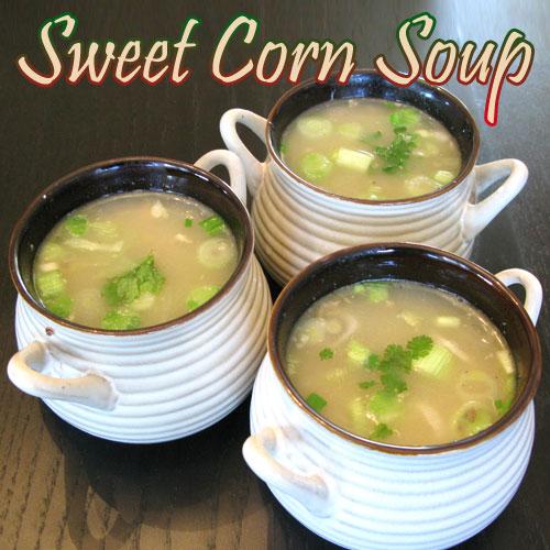 Instant Sweet Corn Soup Recipe , instant sweet corn soup recipe,  recipes,  desserts,  drinks,  main course,  tea time recipes,  recipe to make sweet corn soup,  how to make sweet corn soup